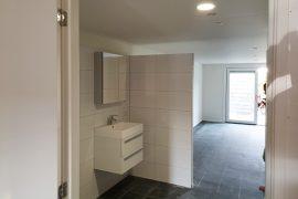 Uitbouw met aangepaste slaapkamer & badkamer